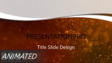 Red Textured Dust Widescreen PPT PowerPoint Animated Template Background