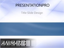 Animated Waveform Flow PPT PowerPoint Animated Template Background