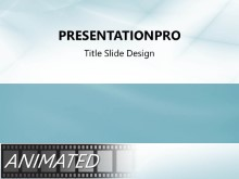 Animated Waveform Flow Teal PPT PowerPoint Animated Template Background