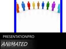 PowerPoint Templates - Animated Team Circle