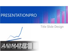 PowerPoint Templates - Animated Bar Chart Recovery