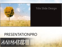 PowerPoint Templates - Animated Change Of Seasons