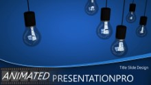 Inspiring Light Widescreen PPT PowerPoint Animated Template Background