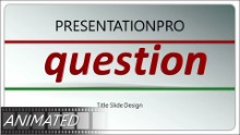 Animated Question And Answer Widescreen PPT PowerPoint Animated Template Background