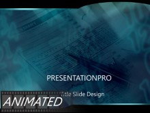 PowerPoint Templates - Animated Blue Graph