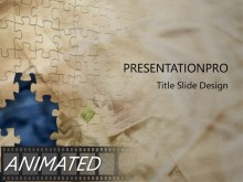 Download puzzle Animated PowerPoint Template and other software plugins for Microsoft PowerPoint