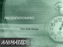 Download clock Animated PowerPoint Template and other software plugins for Microsoft PowerPoint