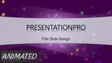 Animated Celebrate Widescreen PPT PowerPoint Animated Template Background