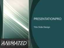 Animated Rising Swish Vertical Dark PPT PowerPoint Animated Template Background