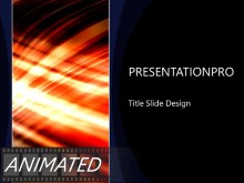 Animated Streak On Black Vertical Light PPT PowerPoint Animated Template Background