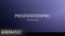 Various Lighting Widescreen PPT PowerPoint Animated Template Background