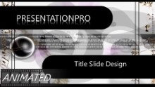 735 Widescreen PPT PowerPoint Animated Template Background