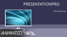 Desktop Screensaver Widescreen PPT PowerPoint Animated Template Background