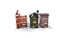 Winter Buildings 3D Model