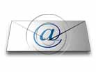 Download email letter 01 blue PowerPoint Graphic and other software plugins for Microsoft PowerPoint