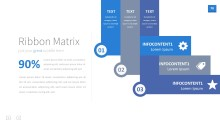 PowerPoint Infographic - InfoGraphic 078 Blue
