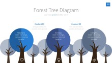 PowerPoint Infographic - InfoGraphic 103 Blue