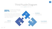 PowerPoint Infographic - InfoGraphic 109 Blue