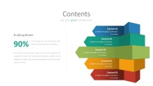PowerPoint Infographic - 004 Contents Boxes