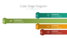 PowerPoint Infographic - 010 Chain Cube Stages 2