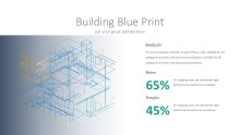 PowerPoint Infographic - 023 Building Blue Print