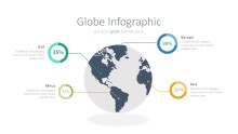 PowerPoint Infographic - 027 World Percentages