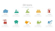 PowerPoint Infographic - 046 Oil Icons