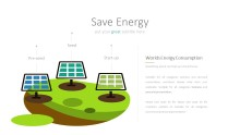 PowerPoint Infographic - 048 Green Energy