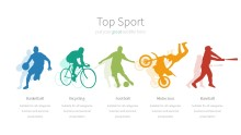 PowerPoint Infographic - 003 Sports