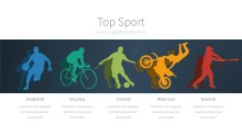 PowerPoint Infographic - 004 Sports