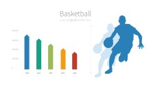 PowerPoint Infographic - 006 Basketball