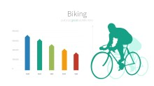 PowerPoint Infographic - 010 Biking