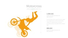PowerPoint Infographic - 013 Motorcross
