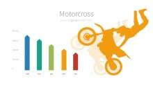 PowerPoint Infographic - 014 Motorcross