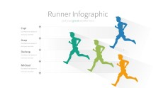 PowerPoint Infographic - 018 Runner Chart