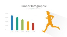 PowerPoint Infographic - 019 Runner Chart