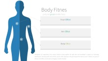 PowerPoint Infographic - 022 Body Fitness