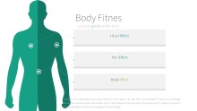 PowerPoint Infographic - 023 Body Fitness