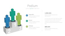 PowerPoint Infographic - 034 Podium