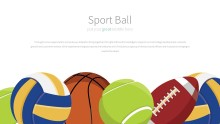 PowerPoint Infographic - 035 Sports Balls