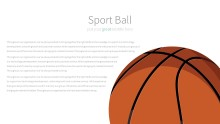 PowerPoint Infographic - 040 Basketballs