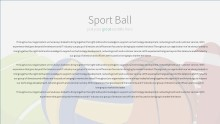 PowerPoint Infographic - 044 Sports Balls