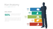 PowerPoint Infographic - 055 Man Anatomy