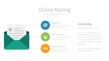 PowerPoint Infographic - 071 Online Mailing
