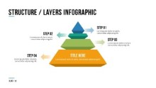 PowerPoint Infographic - 012 - Pyramid Layers
