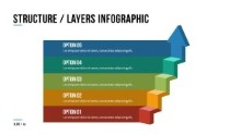 PowerPoint Infographic - 014 - Arrow Layers