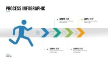 PowerPoint Infographic - 069 - Process Runner