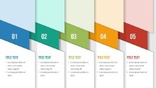 PowerPoint Infographic - 084 - Steps Banners