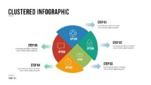 PowerPoint Infographic - 091 - Cluster