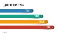 PowerPoint Infographic - 093 - Table of Contents